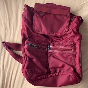 Burgundy REACTION BY KENNETH COLE BACKPACK